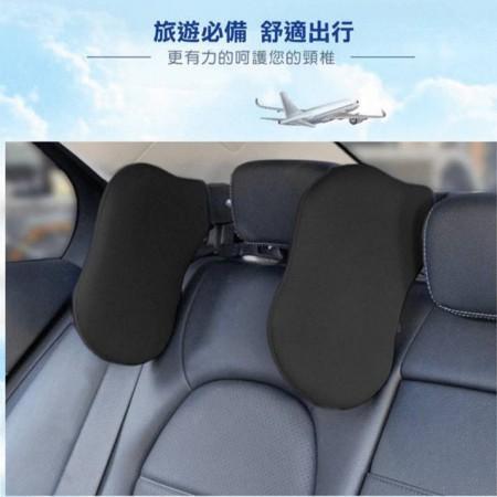 車用側睡枕 舒適可調節  車內睡眠頭枕 旅行汽車頭枕可任意旋轉車用頭靠 車載護頸枕