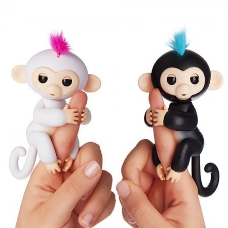 [買十送一]新款呆萌手指猴 指尖玩具 兒童的生日禮物 電子智能觸感手指猴 寶貝猴 玩具猴 兒童玩具