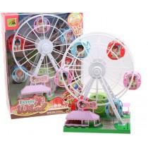 發條旋轉摩天輪 -兒童趣味玩樂首選 新款 兒童樂園 扮家家酒 玩具 交換禮物生日禮物