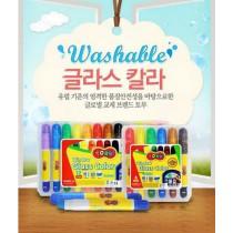 【正韓】Dong-A 無毒水洗蠟筆 12色 現貨