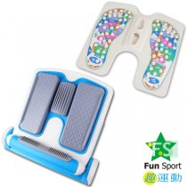 《Fun Sport》足亦樂按摩拉筋板豪華雙配(平板拉筋 + 內外斜板拉筋 +穴道按摩板拉筋)