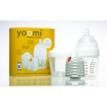 英國 yoomi 140mL 自熱防脹氣奶瓶組 5安士奶瓶