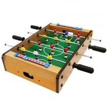 瘋世足桌上型仿真木製手足球台 娛樂 體育