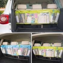 48小時快速出貨/汽車掛袋 大容量椅背雜物收納袋置物掛袋 黑/綠/藍三色