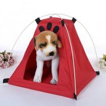牛津布寵物帳篷 可折疊收納寵物帳篷牛津布透氣帳篷寵物帳篷窩寵物外出寵物