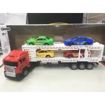 遙控貨櫃車 模型 汽車 遙控車 車身可拆 貨車 兒童 玩具 聖誕 生日 禮物