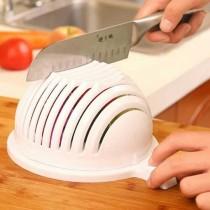 48小時買一送一 二合一瀝水切菜器 切片器瀝水籃 廚房媽媽幫手