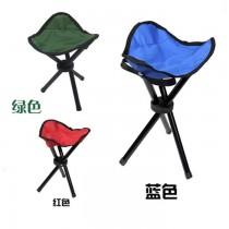 折疊三角椅 戶外便攜折疊凳子露營凳折疊三角沙灘椅三角釣魚收納椅 三色隨機出貨