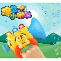 泡泡小喇叭 會吹出聲音的泡泡喇叭 吹泡泡神器兒童玩具泡泡槍玩具戶外