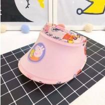 [預購6月初到貨]小豬兒童遮陽帽 藍粉2色粉紅小豬遮陽帽韓版男孩女孩防曬防太陽 夏日必備