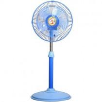 出清2台990元~只有二組皇龍 12吋藍馬卡龍涼風扇 電風扇 HZ-1217R 藍色