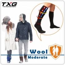 TXG 羊毛機能減壓襪-男女適用(基礎型)