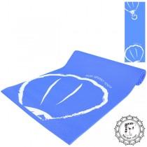 《Fun Sport》熱氣球伸展瑜珈墊(躍動藍)送束口袋