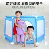 兒童鋼管球池 玩具球池球屋 兒童充氣游泳池家庭大型海洋球池波波球池加厚