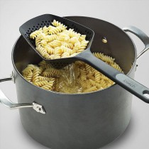 萬用瀝水大湯勺 火鍋麻辣湯舀料瀝水洞洞長柄湯勺 廚房