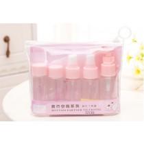 旅行組 旅行分裝罐七件組出差組合化妝品保養品外出分裝瓶 旅行空瓶七件套