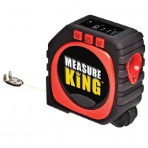 3合1測量捲尺measure king 滾尺激光數字捲尺高精度工具
