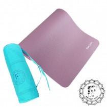 Fun Sport 舒力康環保運動伸展墊/地墊(厚15mm)(風情紫)送布蕾歐背袋