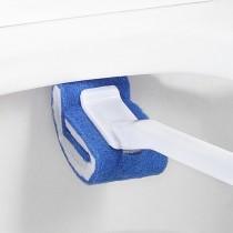 48小時快速出貨[買一送一]居家清潔小幫手日單神奇馬桶刷 刷頭含研磨劑 沾水就能清潔 不須用清潔劑