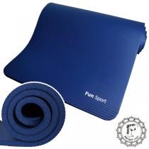 《Fun Sport》NBR環保止滑墊/運動墊 -(20mm)藍色(不含袋) ★送束帶+(袋子需另外加購)