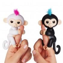新款呆萌手指猴 指尖玩具 兒童的生日禮物 電子智能觸感手指猴 寶貝猴 玩具猴 兒童玩具
