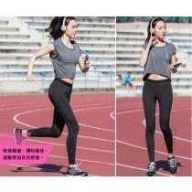 48hr快速到貨 /【J-Sport】 女子限定Ultra fit 運動壓縮九分緊身褲 2入組