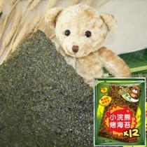 【稑禎】泰國小浣熊烤海苔-原味(全素) 團購指定商品60g (12包組)
