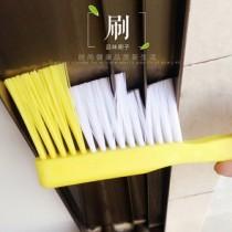 48小時快速出貨 / 家用窗縫門縫三段式清潔刷(附小刷) (不挑色)