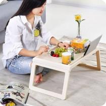懶人折疊桌 可折疊多用筆記本電腦桌 床上桌 宿舍書桌