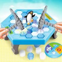 48小時快速出貨/ 【現貨出清】企鵝破冰台(迷你版) 兒童益智桌遊 敲冰磚拯救企鵝 夏天4