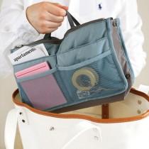 48小時出貨 / 手提包中包 防水雙拉式多功能收納包 不挑色