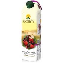 泰國皇家農場 100%純淨鮮果汁 1000ml (綜合苺果) 8瓶組