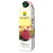 泰國皇家農場 100%純淨鮮果汁 1000ml (荔枝) 8瓶組