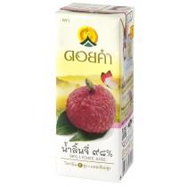 泰國皇家農場 100%純淨鮮果汁 200ml (荔枝) 36瓶組