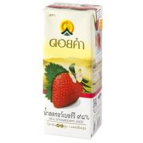 泰國皇家農場 100%純淨鮮果汁 200ml (草莓) 36瓶組