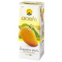 泰國皇家農場 100%純淨鮮果汁 200ml (芒果) 36瓶組