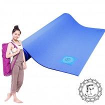 《Fun Sport》PER環保瑜珈墊-莓果藍(送束帶+束口袋袋)