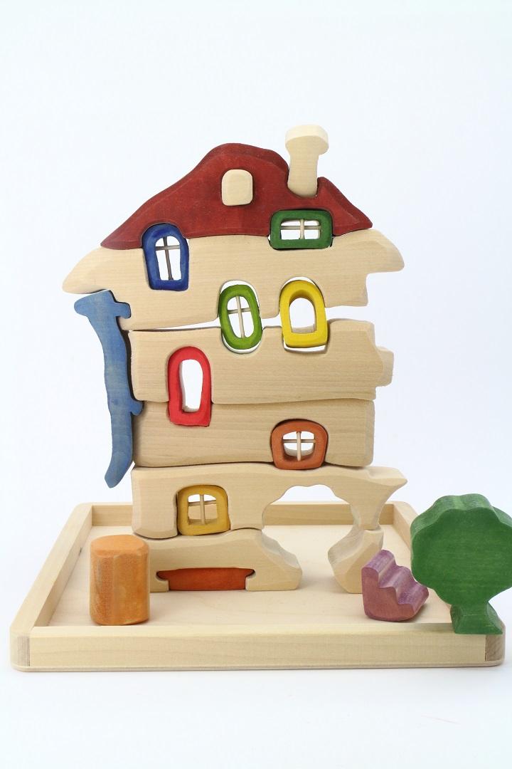 [淳木童话] 建筑游戏系列: 小木屋 --- 双层窗户