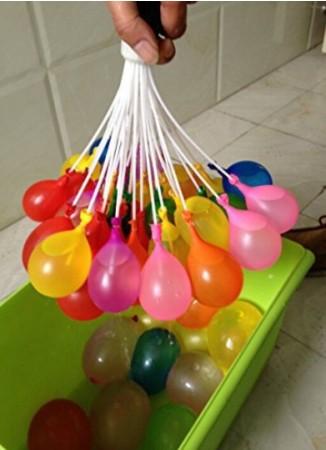 Magic Balloons 外貿熱銷 彩色創意注水裝水充水球束