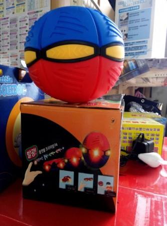 暢銷歐美搖動發光LED燈玩具FLAT BALL P3 DISC LED 飛盤球 飛碟球