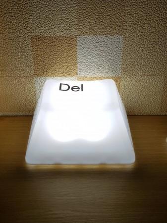 切貨按鍵LED拍拍燈 造型創意 超酷大按鈕 LED白光 夜燈 一拍即亮