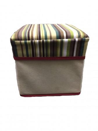 小收納箱折疊椅 收納箱 椅子 方型小椅凳 和室椅 穿鞋椅 整理箱儲物櫃