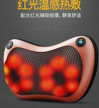 12球按摩枕-頂級雙鍵款 家用 車用 多功能按摩枕 發熱按摩枕 攜帶式 送禮自用兩相宜