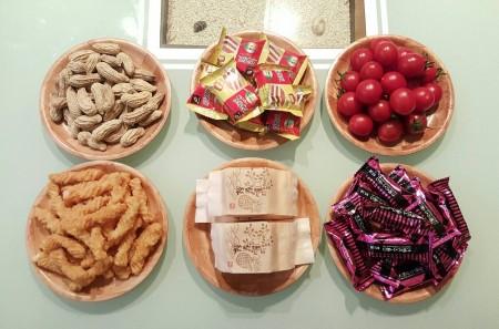 6入竹製點心盤 餐廚小物餐具 創意生活 客廳廚房年節伴手禮 天然竹