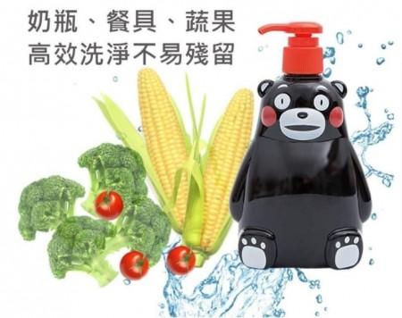 切貨熊本熊蔬果洗潔液 奶瓶 餐具 蔬果 洗手等 去除殘留農藥 不乾澀 好沖洗 不殘留