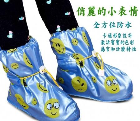 兒童雨鞋套 雨鞋套 防水鞋套 兒童 防滑 男女童平底鞋套 加厚耐磨 雨天必備