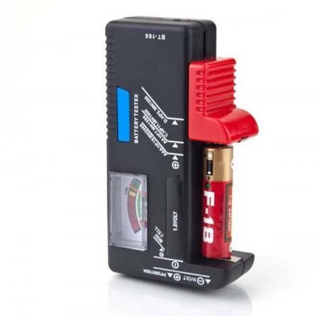 電池測量器 BT-168 各種電池水銀方型電池都可檢 測電量電壓