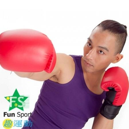 《Fun Sport》高級乳膠拳擊手套(10盎司)