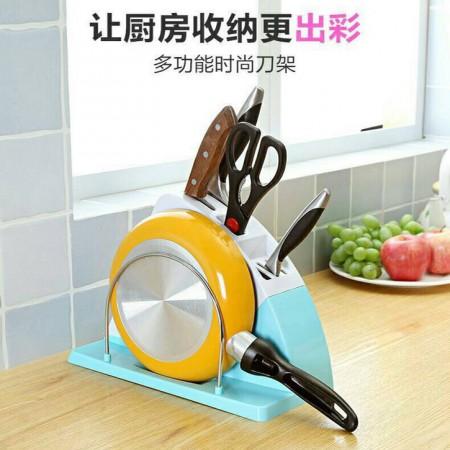 48小時到貨多功能刀盤架 廚房收納 刀盤置物架 不挑色