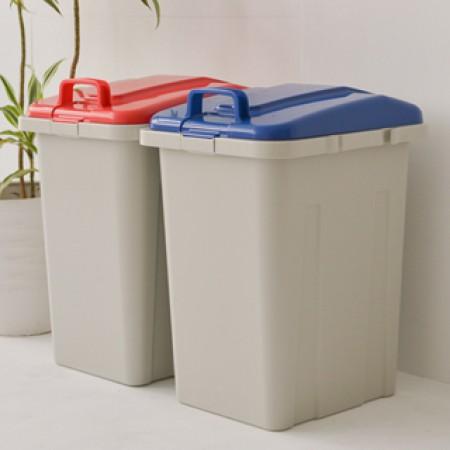 無印風 大容量 45L 垃圾桶 雜物桶 衣物桶